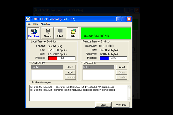 Radio Messaging Software